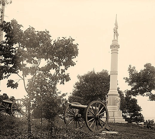 Latrobe's Battery, C.S.A. monument, Chattanooga, Tennessee